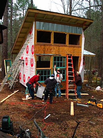 How To Recycle A Tiny House Day Four Afternoon Mayaland