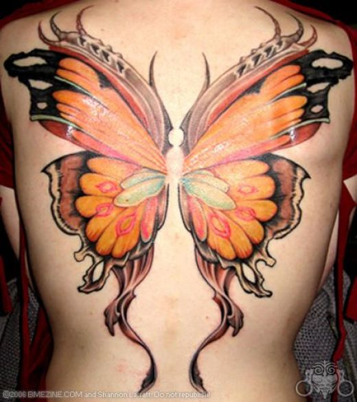Tattoos With Wings. Wings,