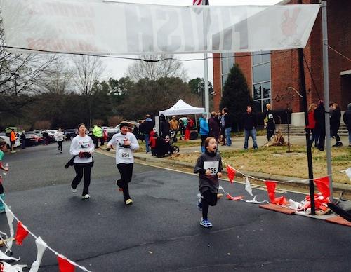 Sophie runs 5k 3