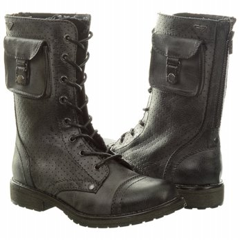 combat boots with pockets
