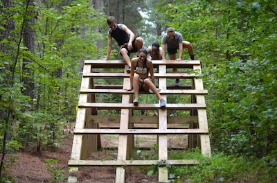 zombie run obstacle